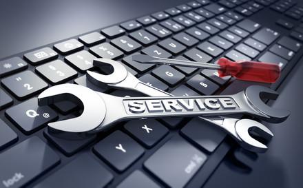 Bild für IT-Solutions (Tastatur und Werkzeug)