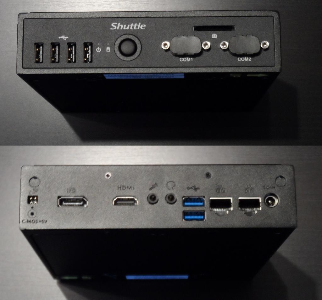 Shuttle Barebone DS57U5 im Test