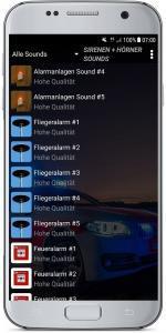 Sirenen + Hörner Sounds Screenshot 1