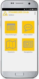 Staumelder MOBILE App