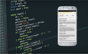 Staumelder MOBILE App-Entwicklung