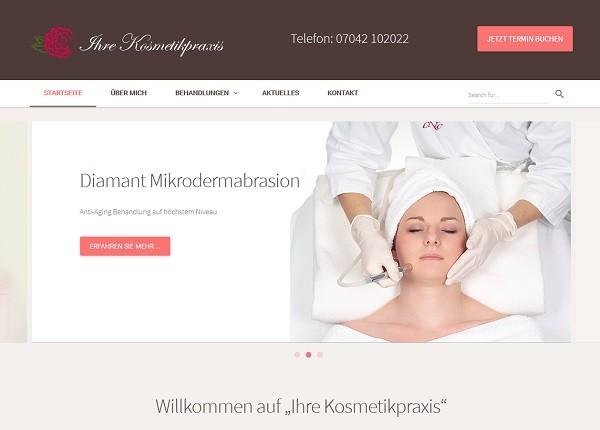 Startseite von Ihre Kosmetikpraxis